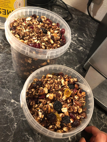 Melissa Healthy Food Granola Recipe