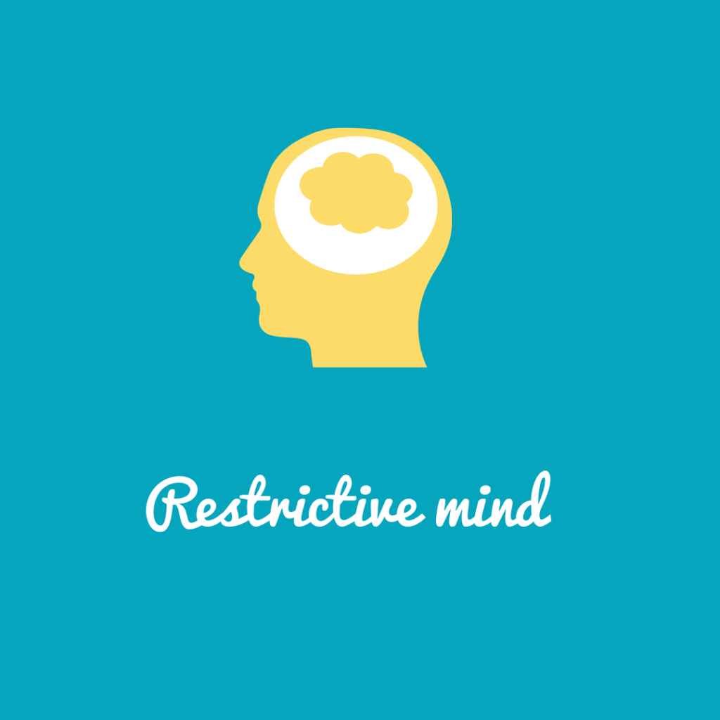 Restrictive Mindset Melissa Blog
