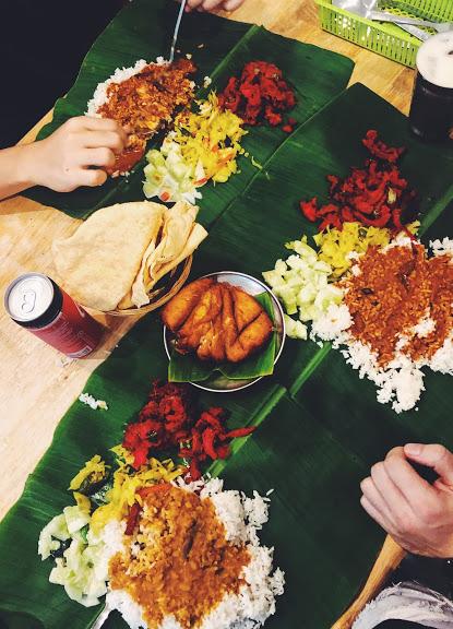 Indian food in Kuala Lumpur Malaysia